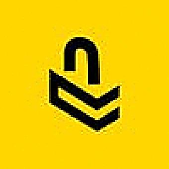 Cased logo