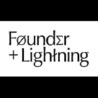 Founder + Lightning logo